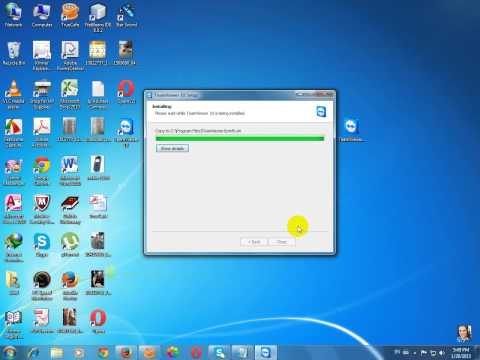How to install TeamViewer 10