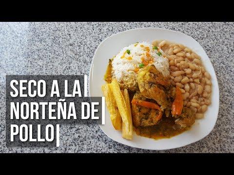🐔 Seco de Pollo a la Norteña - Preparación de comida peruana   Estilo Marilin