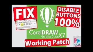 How to fix coreldraw x7 all save export and print featuers