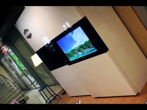 Фото гардеробных с телевизором