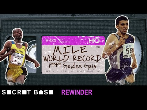 The fastest mile ever run deserves a deep rewind | Hicham El Guerrouj's 1999 World Record