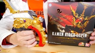 怪盗短剣 DXルパンガンナー&ルパンブレードバイラルコア レビュー 仮面ライダードライブ Kamen Rider Rupin DX Lupin Gunner Review thumbnail