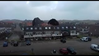 Extremely Intense Wind Storm across Europe. 1/18/2018
