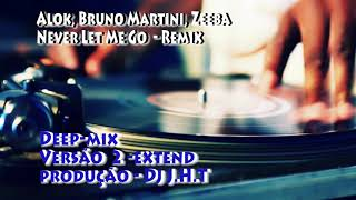 Baixar Alok, Bruno Martini, Zeeba - Never Let Me Go, Deep Remix