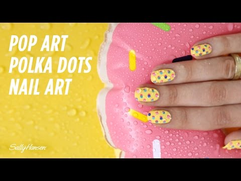 Pop Art Polka Dot Nails