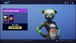 New Skin * Scare team leader and weapons removed-Fortnite Battle Royale