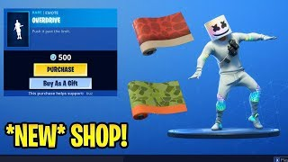 *NEW* Shop! Dino & Triassic WRAP..!! Overdrive Emote is back! - Fortnite Daily Item Shop April 22