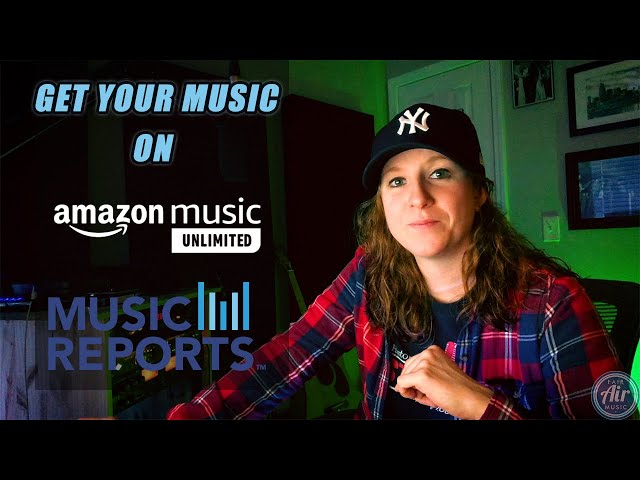 IS YOUR MUSIC ON AMAZON MUSIC UNLIMITED AND SOCIAL MEDIA PLATFORMS?!
