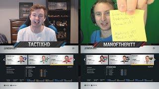 NHL 18 - EXPANSION DRAFT CHALLENGE vs MANOFTHERITT