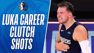 Best of Luka's Career CLUTCH Buckets! 👀