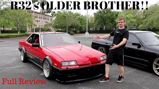 The COOL FEATURES of the 1984 Nissan Skyline R30 Turbo RS!! - OLD SCHOOL STANCE!