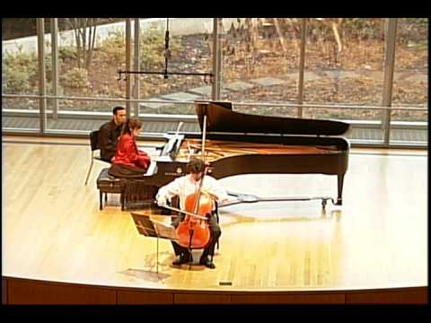 Cassado - Saeta, from Cello Sonata