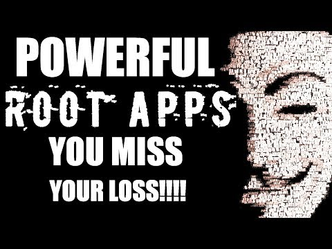 3 POWERFUL ROOT Apps For Rooted Android | You Miss, Your Loss!!