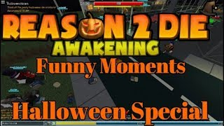 Roblox R2DA Funny Moments Halloween Edition [Halloween Special]