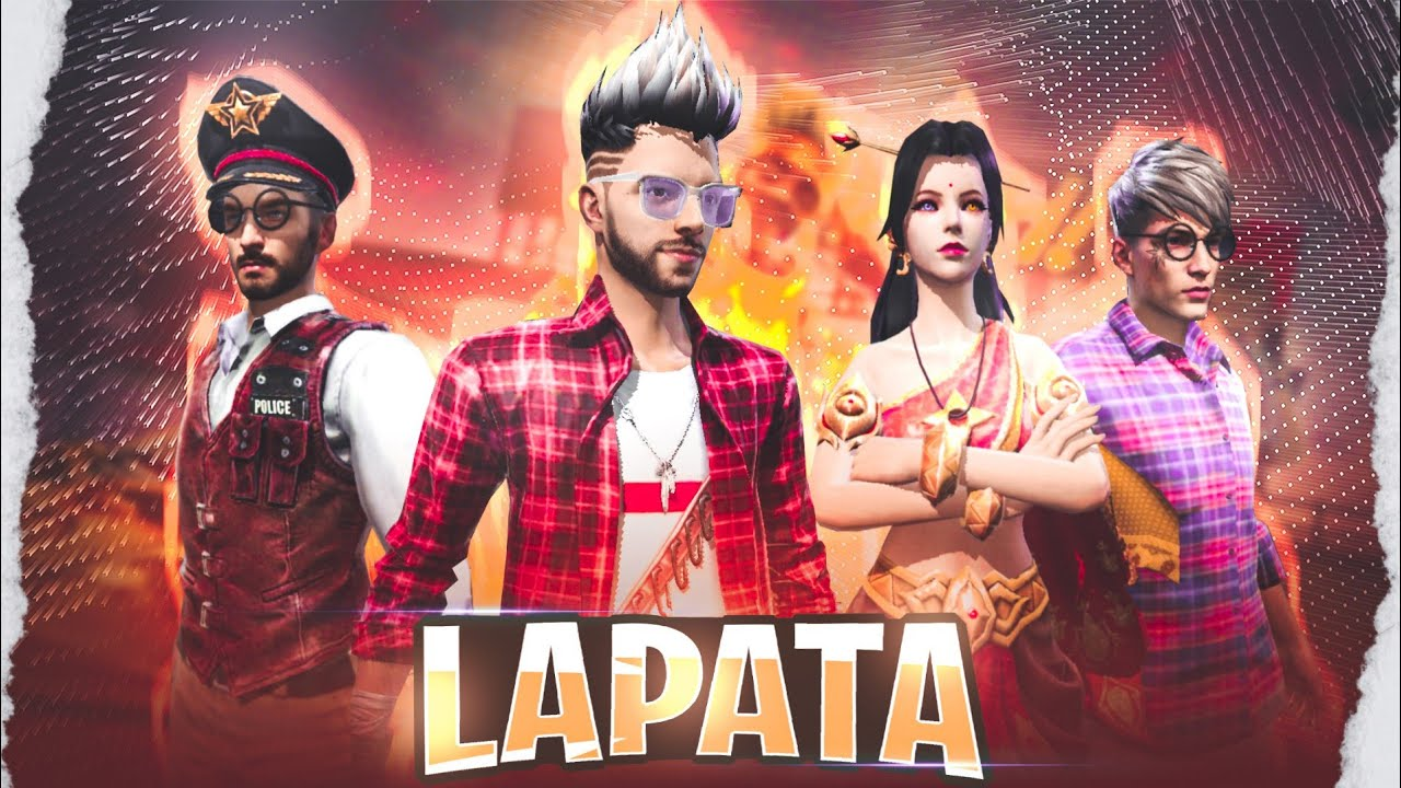 Lapata [ लापता ]📞 Full Action Emotional Story in Hindi || Free Fire Story