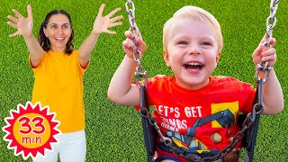 Children's Songs with Alicia and Alex by Sunny Kids Songs | Outdoor Playground Song