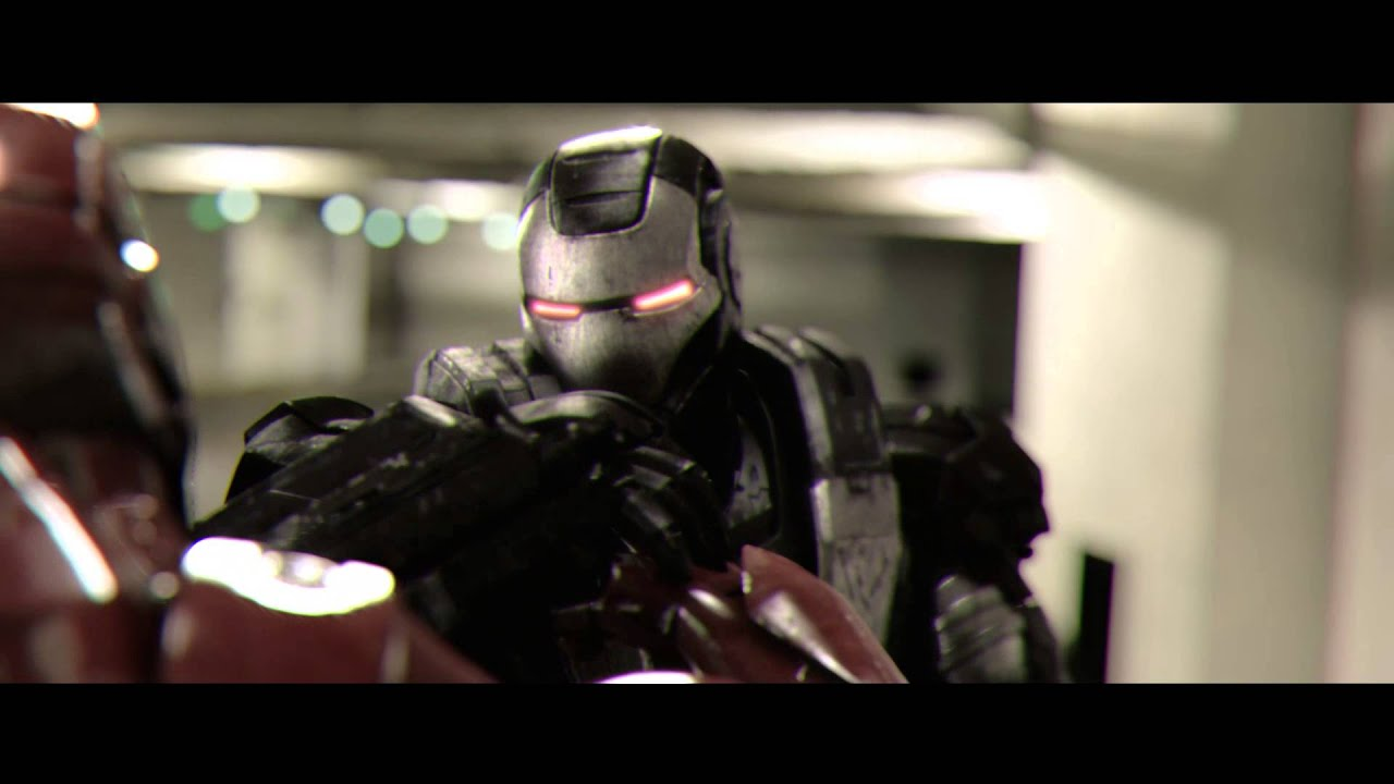 ironman vs warmachine youtube