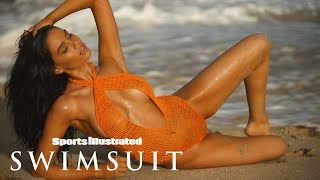 Anne de Paula is Red Hot in Nevis | Sports Illustrated Swimsuit