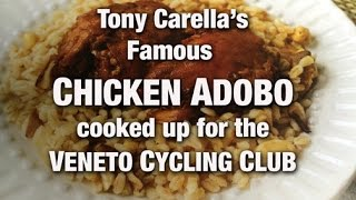"""Tony Carella """"chicken Adobo"""" At Vcc With Frank Mazzuca  