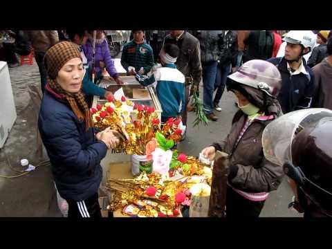 Chợ Viềng Nam Định - Tết 2010 - Namdinh Vieng market 2010