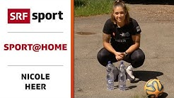 Crossfit-Workout mit Nicole Heer - Sport@home - Folge 24