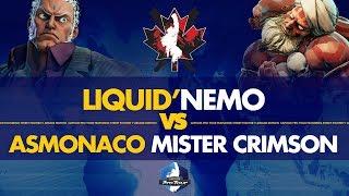 Liquid Nemo (Urien) VS ASMonaco Mister Crimson (Dhalsim) - Canada Cup 2019 L. Round of 12 - CPT 2019