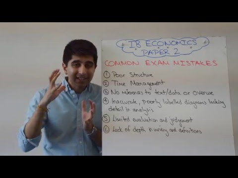 ib economics paper 2 vocabulary [math sl]10 questions that are most likely to show up in your 2017 math sl mock exam part 1 - duration: 15:48 hkexcel education centre 19,053 views.