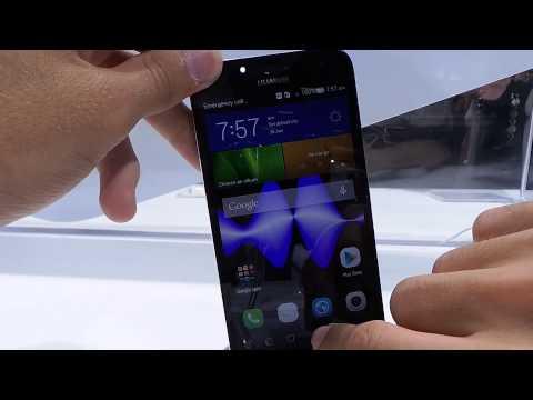 Huawei Ascend G7 bemutató videó