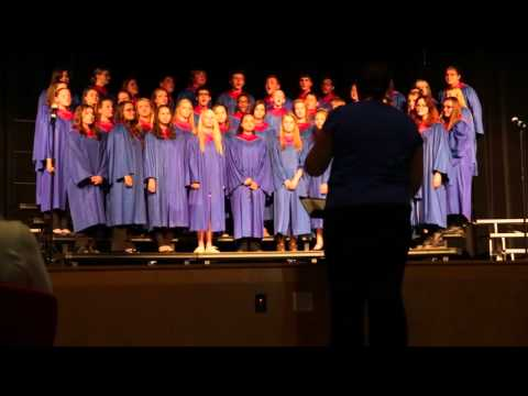 Pleasant Plains High School Choir Performance 10-14-2015