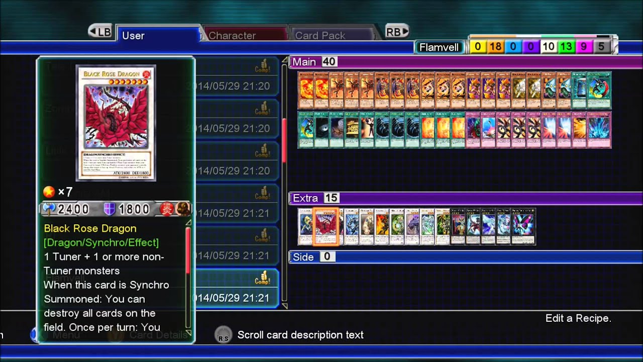 Yu-Gi-Oh Millennium Duels Gameplay - Deck Recipes I Used ... - photo#6