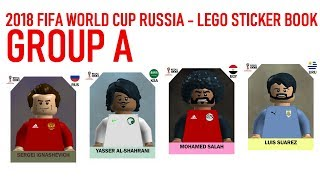 Lego World Cup Sticker Book - Russia 2018 - Group A