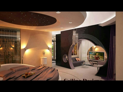 How To Make Plaster Ceiling Designing Youtube