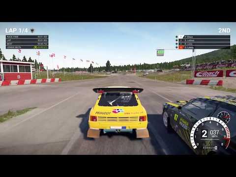 DiRT 4 Peugeot 205 T16 Rallycross 1080p