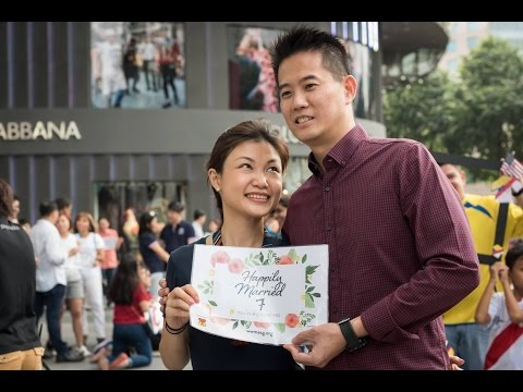 2017 World Marriage Day Freeze Flashmob - Marriage Encounter Singapore