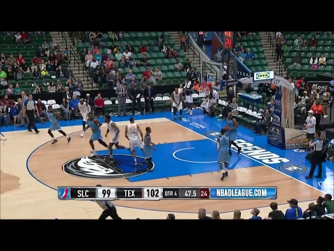 Joel Bolomboy posts 21 points & 21 rebounds vs. the Legends