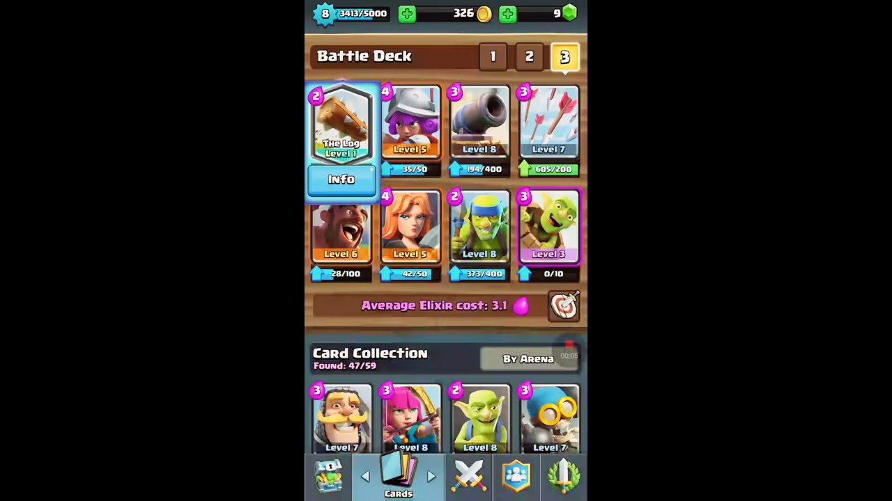 Awesome Log Deck Arena 7 Youtube