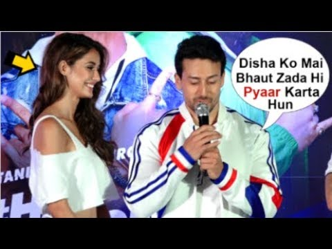 Tiger Shroff Openly Confesses LOVE For Girlfriend Disha Patani  At Pepsi Anthem Song Launch