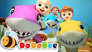 BABY SHARK SONGS  Swimming Song +More Kids Songs  Nursery Rhymes