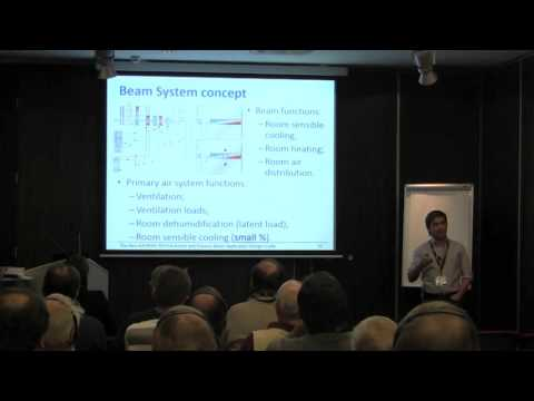 Carlos Lisboa: The design of Chilled Beam Systems and the new ASHRAE/REHVA Design Guide