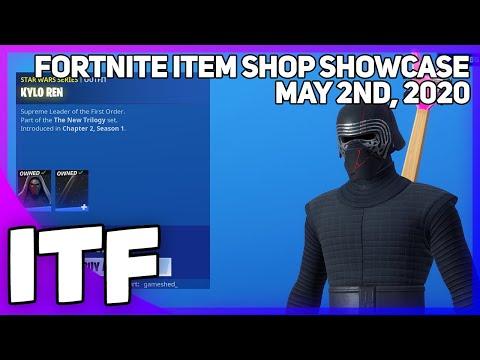 Fortnite Item Shop STAR WARS SHOP + *NEW* BANNER WRAP! [May 2nd, 2020] (Fortnite Battle Royale)