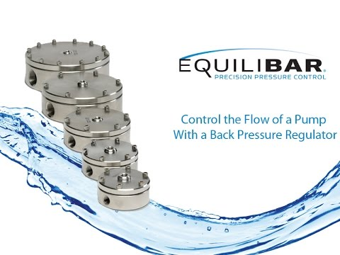 Control the Flow of a Pump With a Back Pressure Regulator