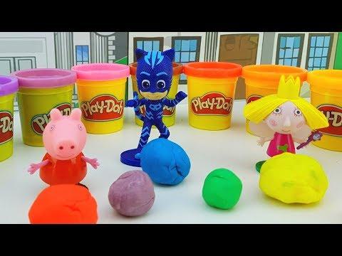 Peppa Pig Dottoressa Peluche Ben e Holly - oggi Peppa Pig prepara i dolcetti per le sue amiche!