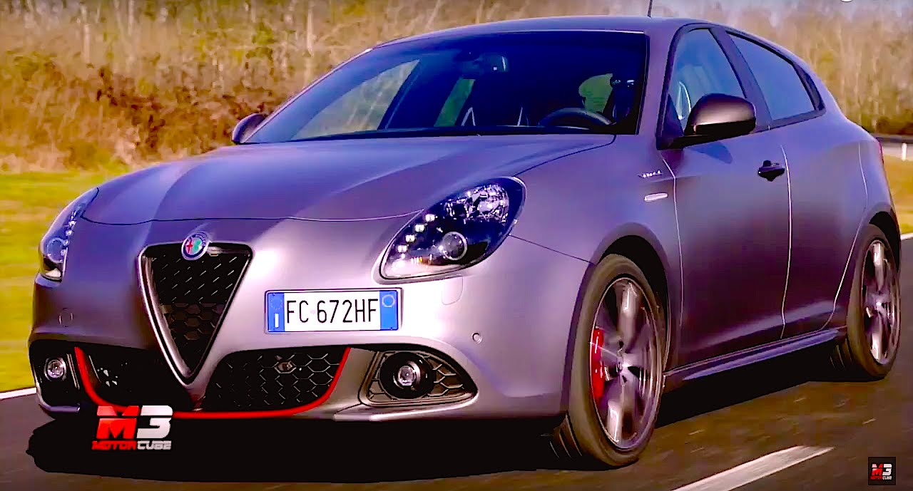 New Alfa Romeo Giulietta 2016 First Test On Track Only Sound