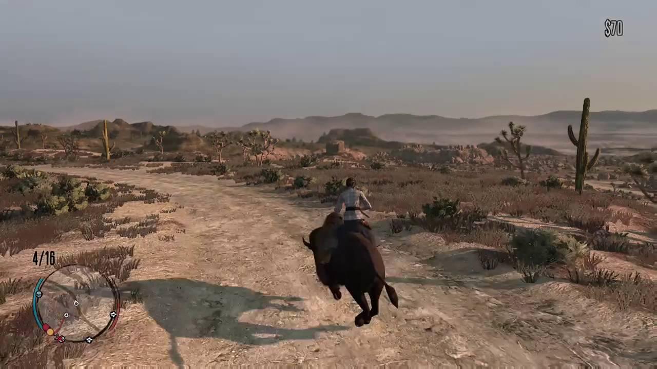 Red Dead Redemption-Online-Buffalo mount - YouTube
