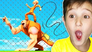 Kid Reacts To Funniest Animation Ever - Try Not To Laugh Challenge