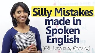 Silly mistakes made by English learners while speaking English - Improve your English thumbnail