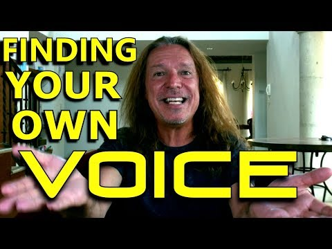 Finding Your Own Voice - Ken Tamplin Vocal Academy