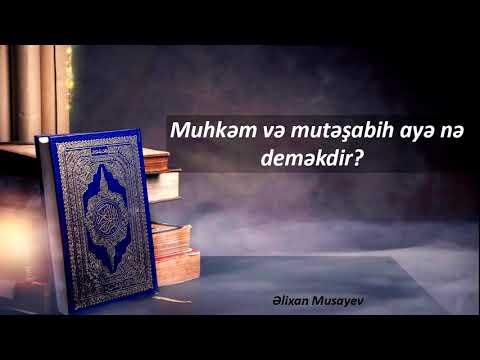 Əlixan Musayev - Qamət barədə suala cavab ( Yeni - 09.08.2017)