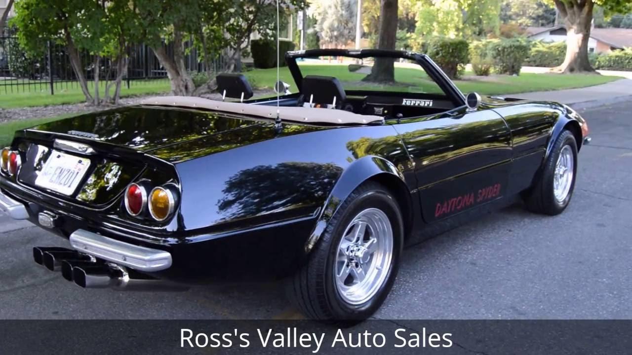 1971-ferrari-365-daytona-spyder-replica-ross-s-valley-auto-sales-boise-idaho-youtube