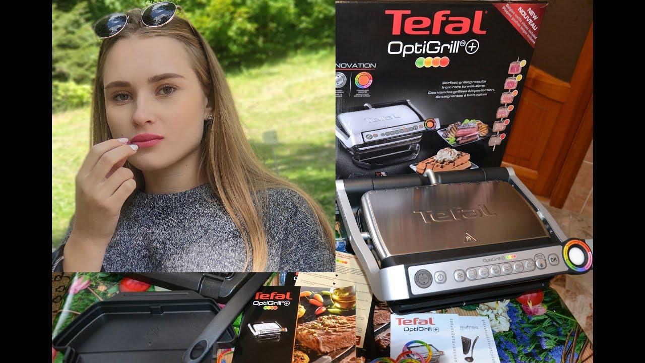 ГРИЛЬ TEFAL OptiGrill + GC716. Обзор. Даша готовит блюда.  Кухня 2019